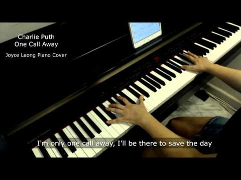 Charlie Puth - One Call Away - Piano Cover (with Lyrics) & Sheets