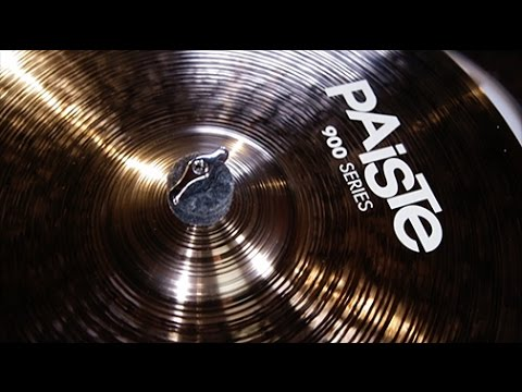 Paiste 900 Series Cymbals with Dylan Elise