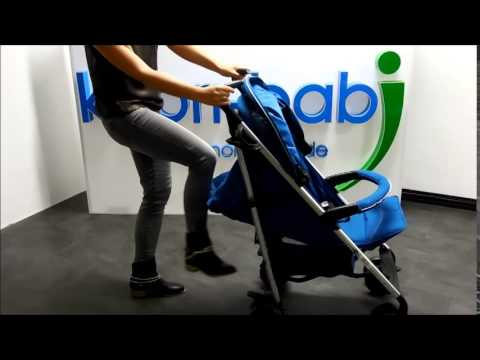 Knorr-Baby Buggy Commo Sport Blau