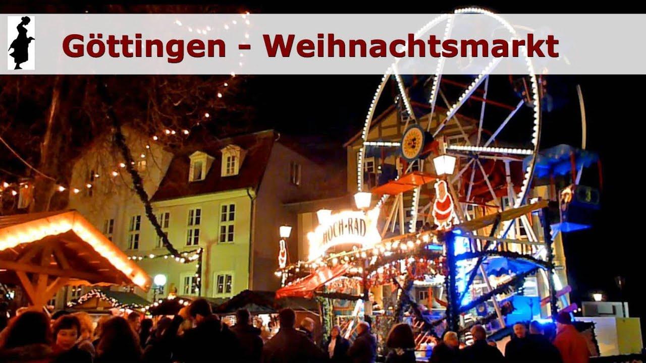 Weihnachtsmarkt Göttingen.Göttingen Christmas Market