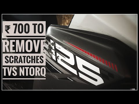 ₹700 Can Vanish your NtorQ Scratches     Remove your Scratches of TVS NtorQ.