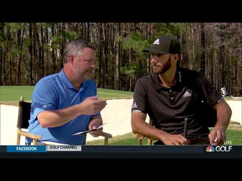 Golf Channel Interview with Dustin Johnson at TPC Myrtle Beach