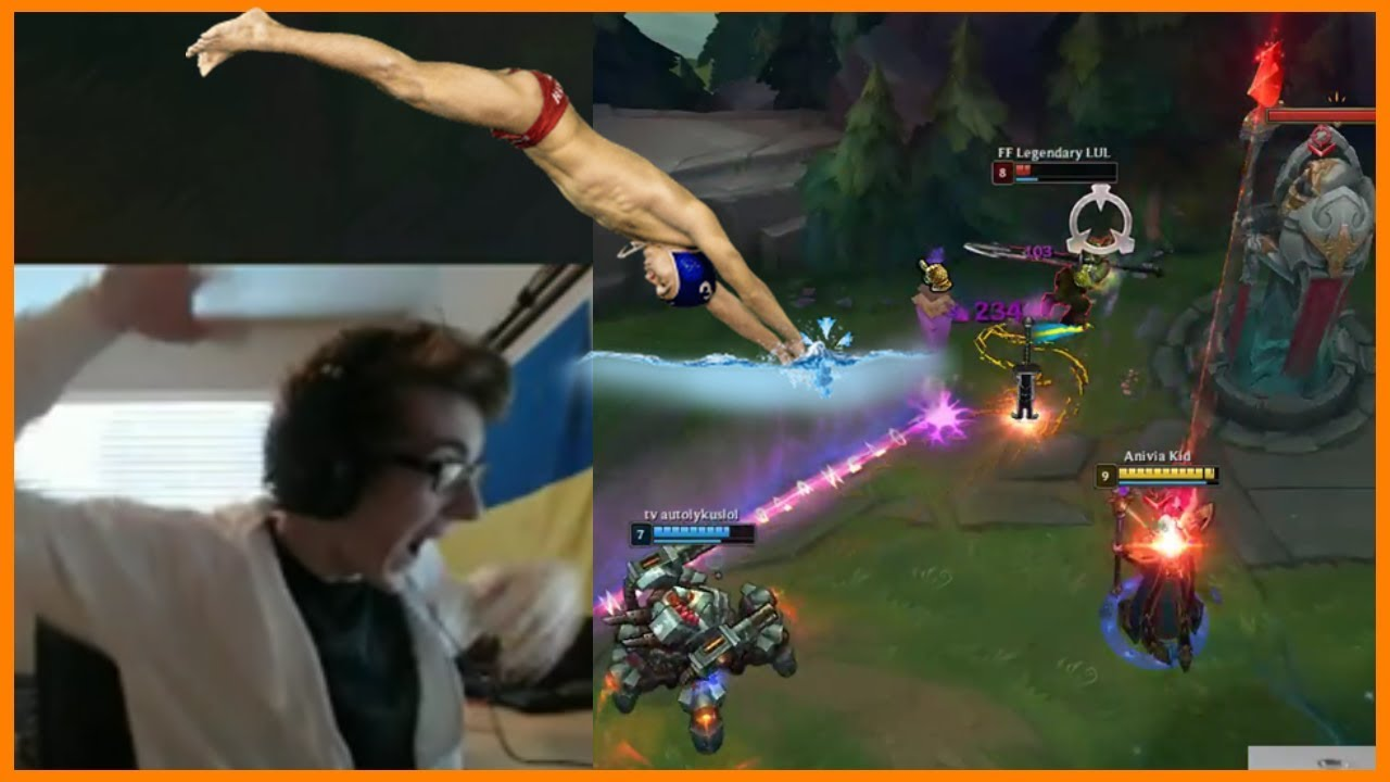 Don't Watch This Dive if You Don't Want to Hurt Your Eyes - Best of LoL Streams #416