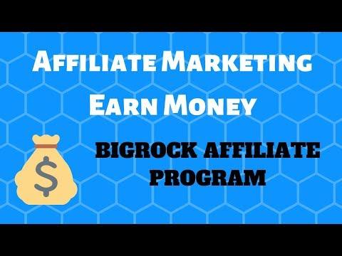 Bigrock affiliate marketing website || earn money from affiliate marketing || affiliate marketing thumbnail