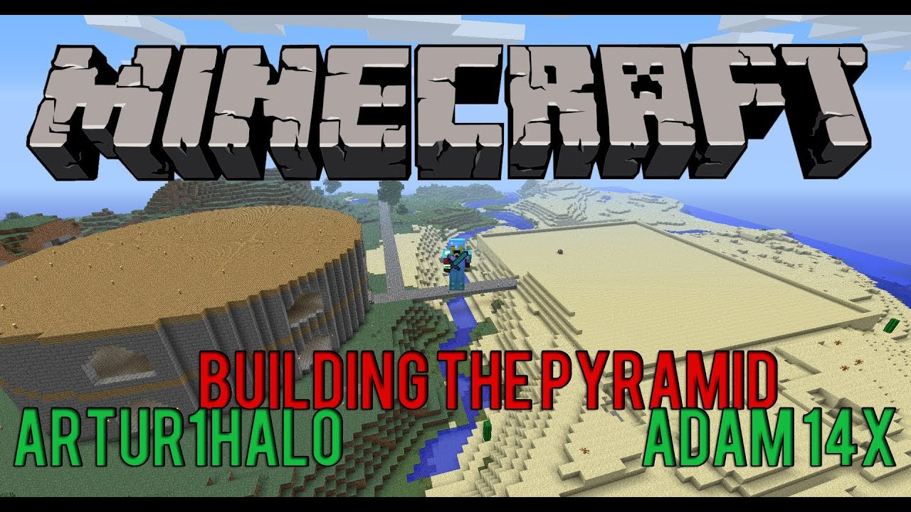 Survival Projects - Minecraft - Building the Pyramid