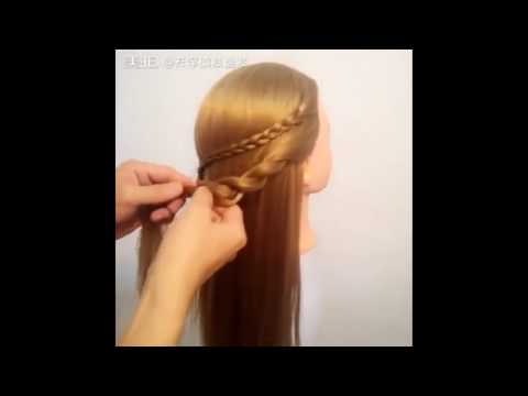 The Most Beautiful Hairstyles Tutorials January 2017