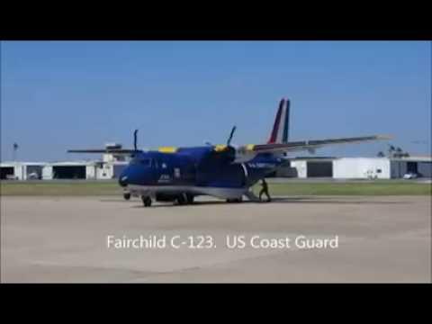 Fairchild C-123 US Coast Guard.  Wow!!!