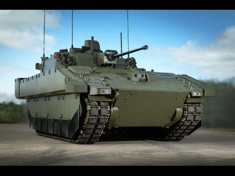 AJAX Scout SV new reconnaissance armoured fighting vehicle British Army DSEI 2015 London UK