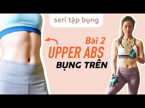 Seri TẬP BỤNG - Bài 2 tập BỤNG TRÊN - UPPER ABS ♡ Yoga By Sophie