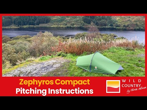 Zephyros 1 and 2 2017 onwards Tent Pitching Video