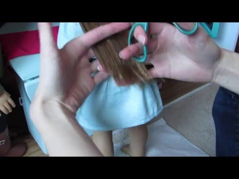 How To: Trim Your American Girl Dolls Hair!