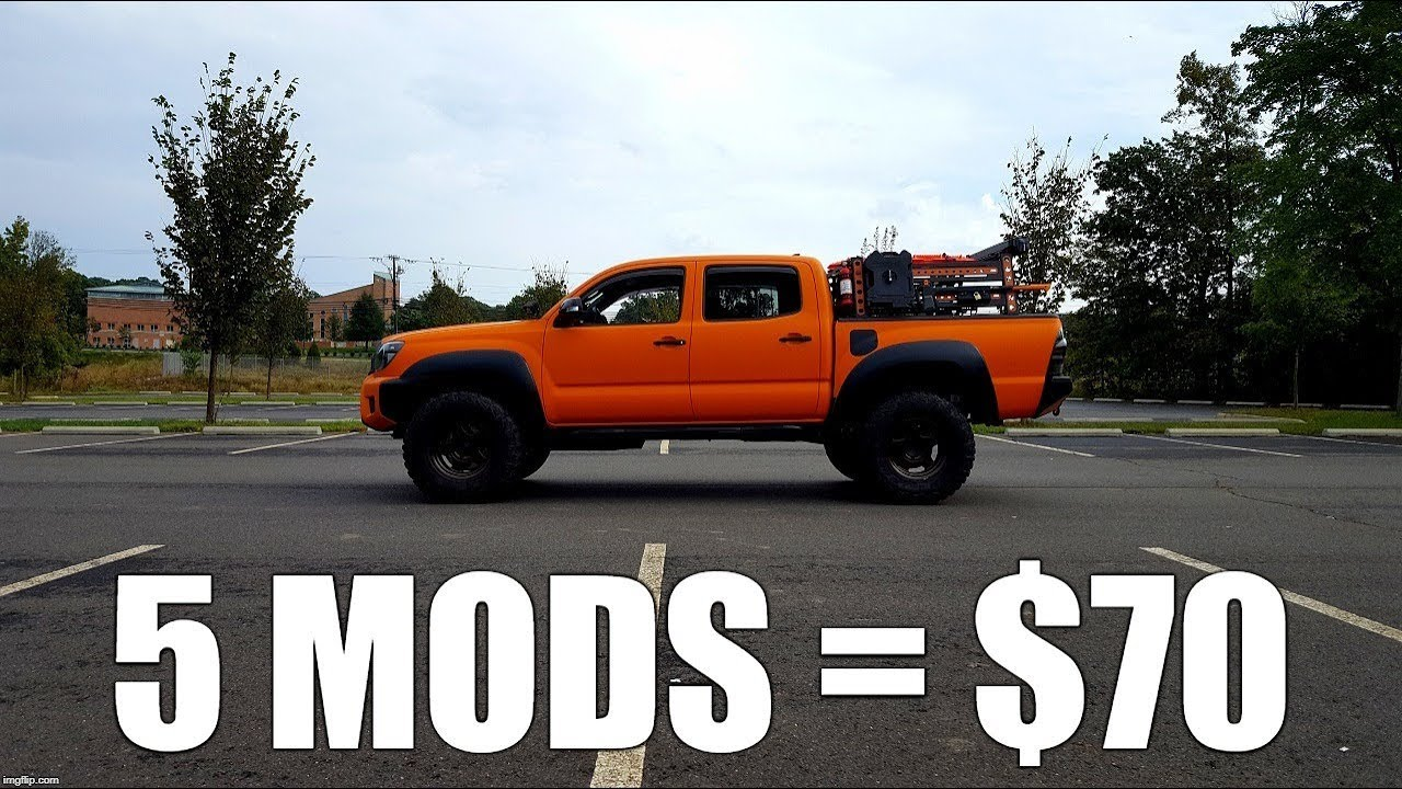Toyota Tacoma Mods >> 5 More Great Interior Tacoma Mods For Just 70