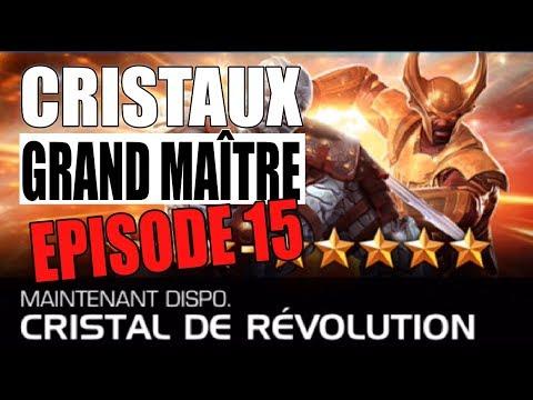 OUVERTURE 10 CRISTAUX Grand Maître #15 RÉVOLUTION - DE PIERRE - MARVEL TOURNOI DES CHAMPIONS