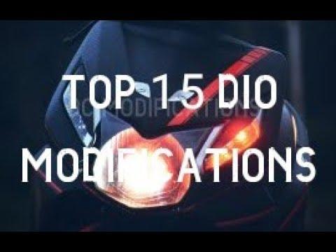 honda dio new model top modified 2018