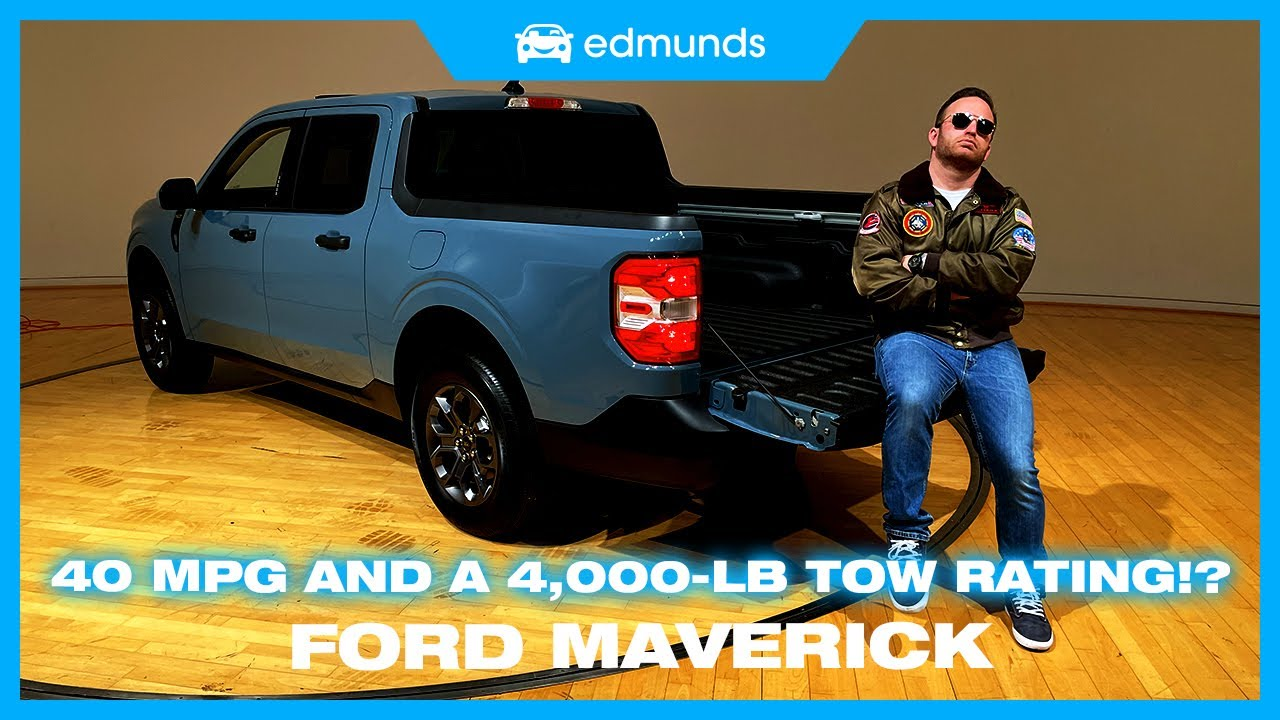 2022 Ford Maverick: Compact hybrid pickup full of features, under ...