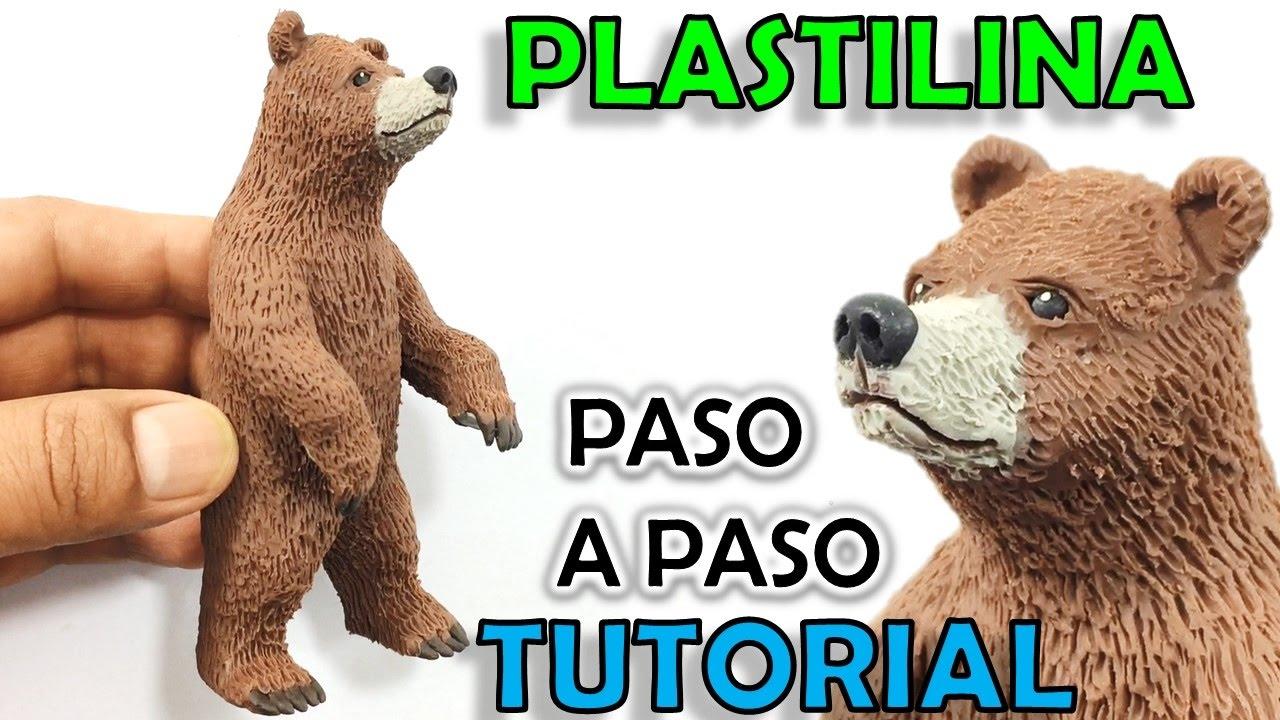 Como hacer un oso grizzly de plastilina paso a paso mi - Como hacer un estor enrollable paso a paso ...