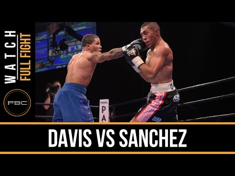 Davis vs Sanchez FULL FIGHT: Dec. 18, 2015 - PBC on Spike