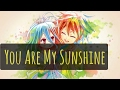 Nightcore~You Are My Sunshine
