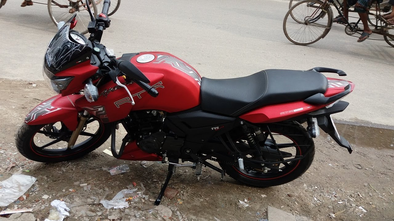 tvs apache rtr 150 top speed