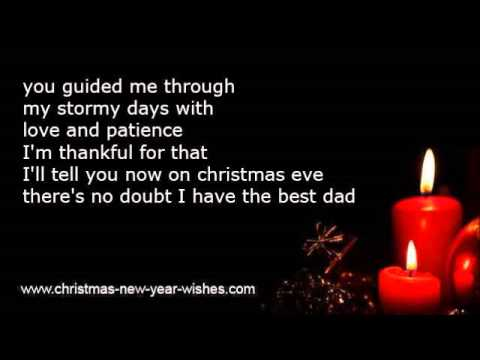 christmas poems children to parents love from kids