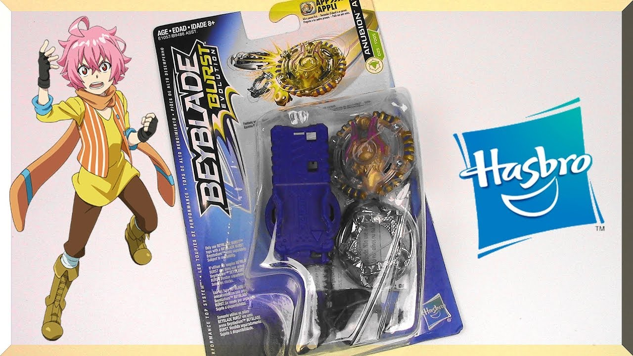 Anubion A2 Unboxing Review Battle Beyblade Burst