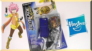 ANUBION A2 Unboxing Review Battle | Beyblade Burst Evolution | Hasbro