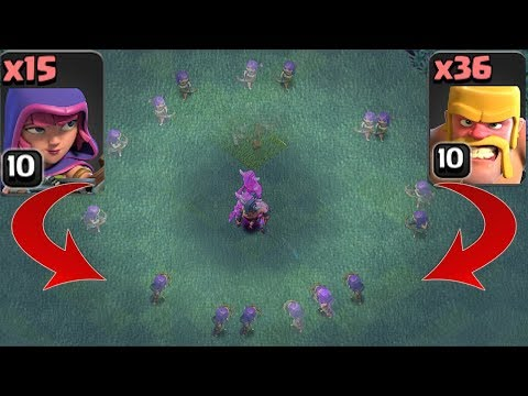 GUYS vs. GIRLS!!! | Clash of clans | MAX BARB Vs. MAX ARCHER!?!