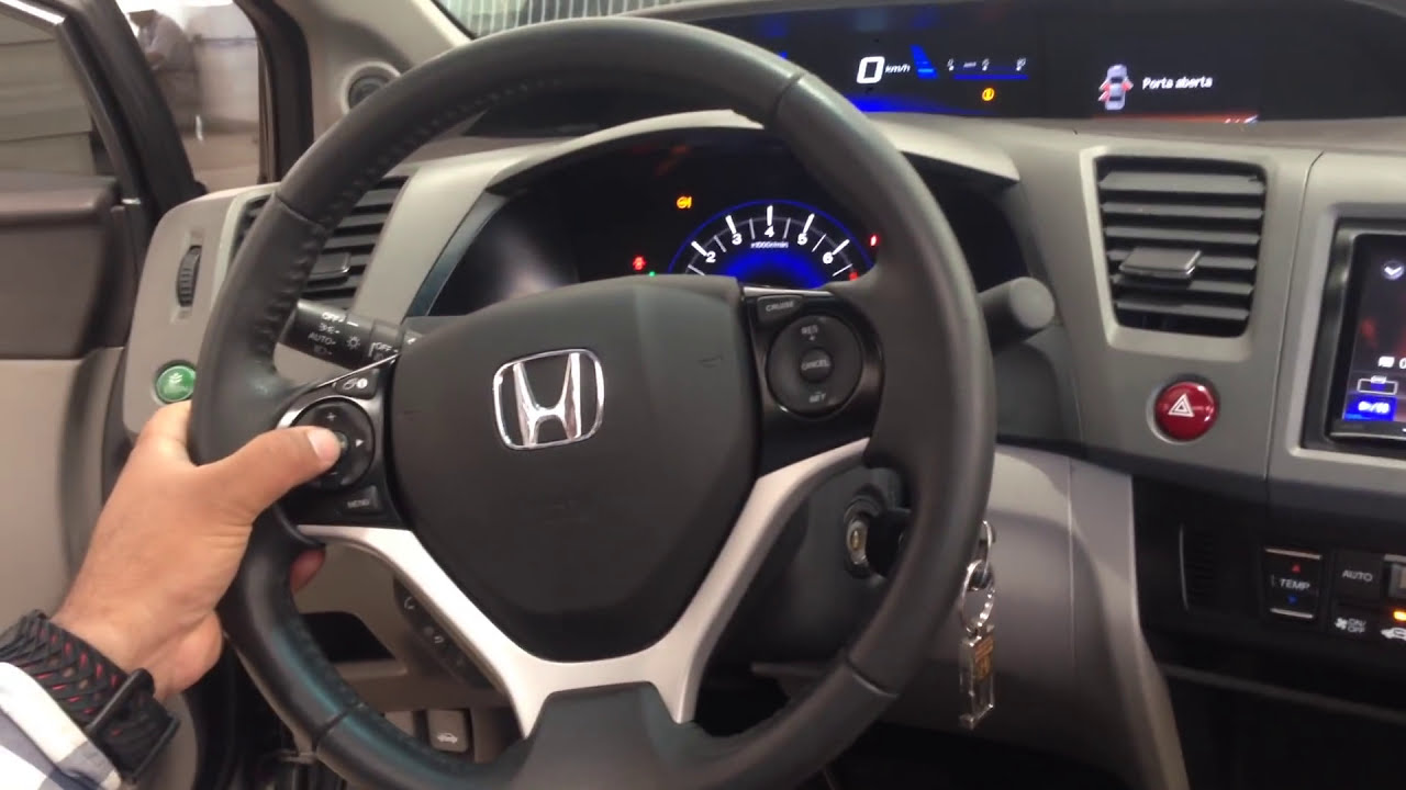 OVER SHOP - Central Multimidia Pioneer Avic F70 Honda Civic Lxr 2014 - YouTube