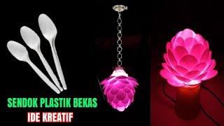 Luar biasa !!! ide kreatif Sendok plastik bekas