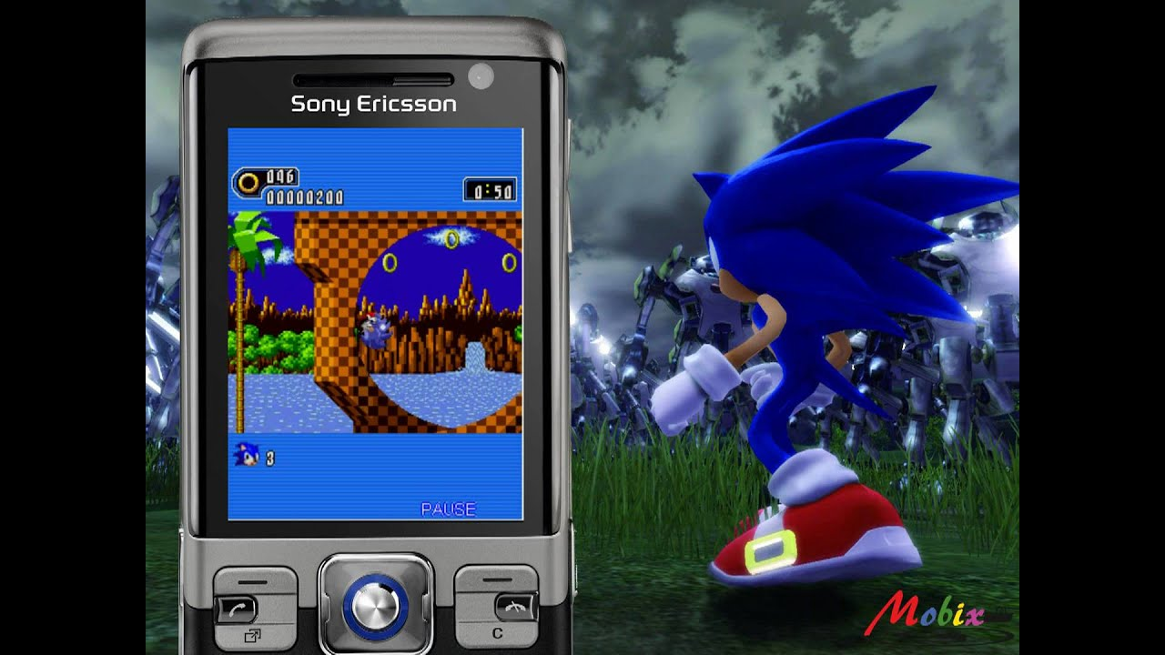 Sonic The Hedgehog Java Game (SEGA Mobile) [watch in HD]