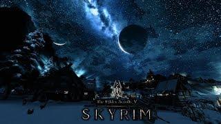 Выживание в TES 5: Skyrim. Первое прохождение с модами. Изучаем мир. #2