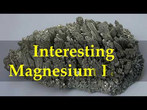 Interesting Magnesium Facts