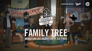FAMILY TREE 2014 Animated Lineage of French Characters thumbnail