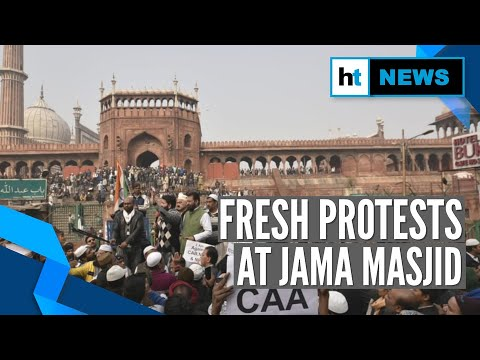 Fresh protest at Delhi's Jama Masjid against Citizenship Act