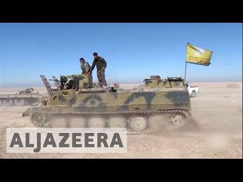 US-backed Syrian forces launch new offensive on Raqqa