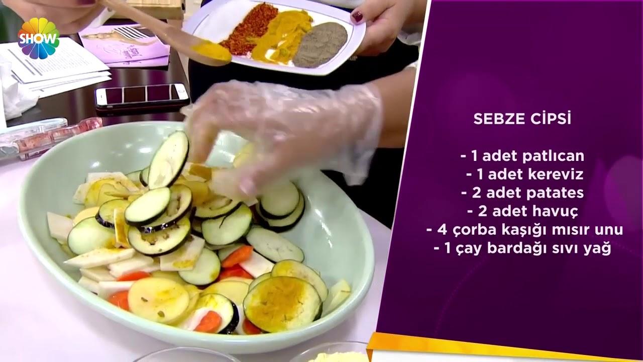 Sebze ve meyve cipsi nasıl pişirilir