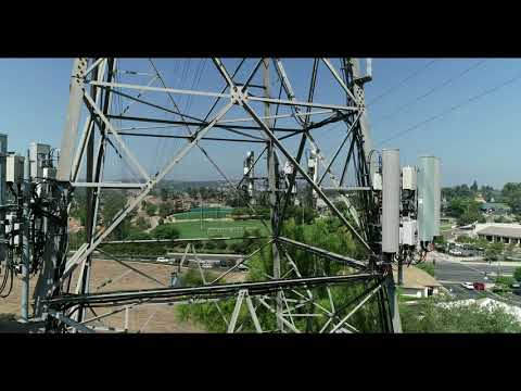 drone-review-of-cell-phone-tower-equipment-on-9-6-2018