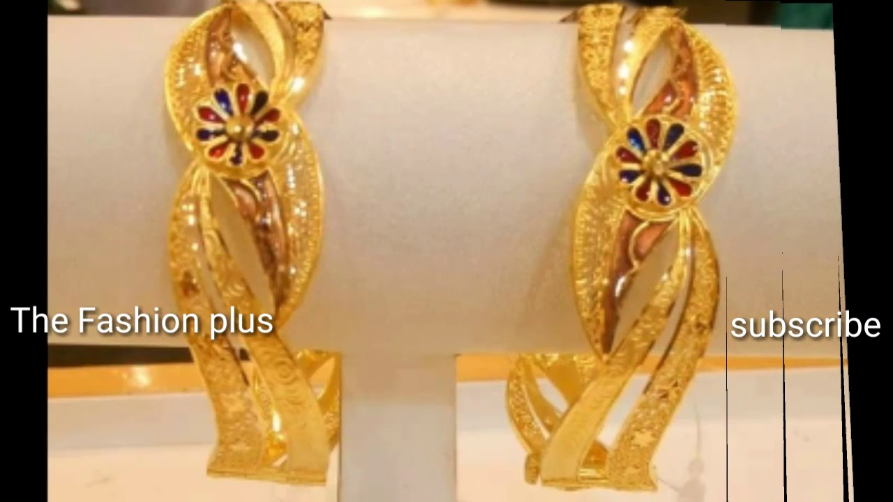 Gold Bangles Designs With Weight |Gold |Bala |Chura Designs With ...