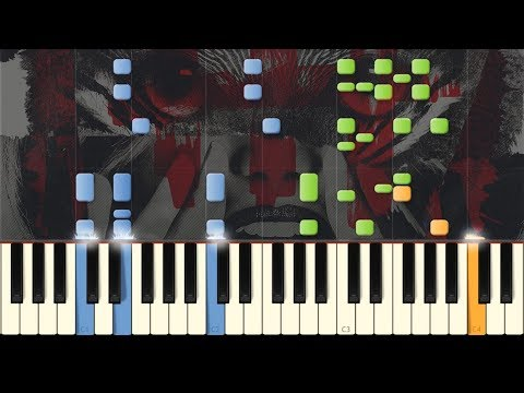 Galantis & Throttle - Tell Me You Love Me: Synthesia Piano Tutorial