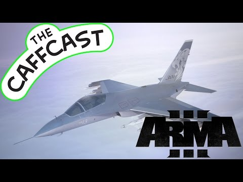 Arma 3 Wasteland Game Mode Mod - FLYING A JET! [1080p 60fps, Max Settings]