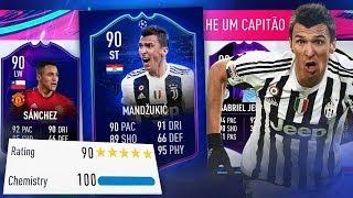 FIFA 19 FUT DRAFT 190 A SERIE COMEÇOU ! MEU MELHOR TIME !