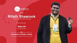 Rifath shaarook, cto space kidz india in conversation with naba ali