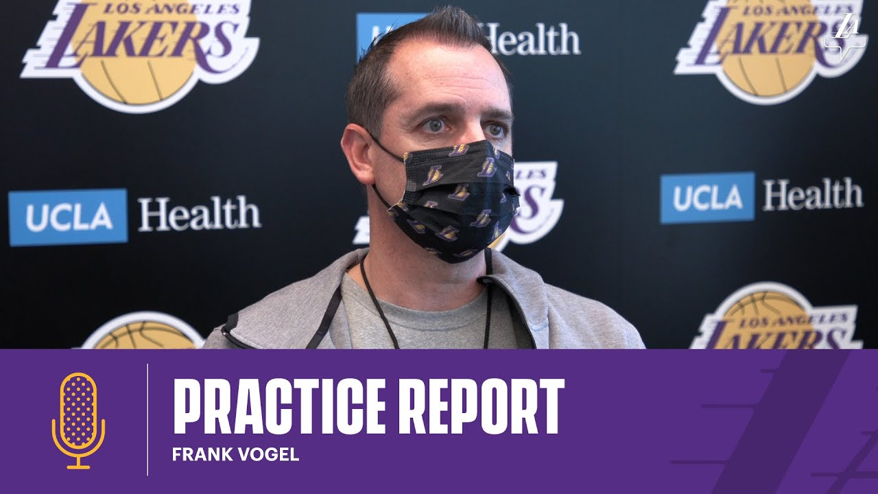Frank Vogel discusses how the Lakers will determine their starting lineup