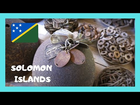 SOLOMON ISLANDS, BARNEY'S fascinating WW2 MUSEUM in MUNDA (New Georgia island)