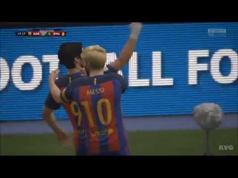 FIFA 17 - FC Barcelona vs Real Madrid CF | Gameplay (HD) [1080p60FPS]