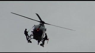 Polizeihubschrauber EC135 Bergeübung Cobra Pt. 1 @ LUFTFAHRT11 FH Joanneum  *Full HD*