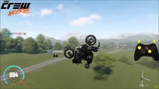 The Crew Wild Run: Kawasaki H2 Double Back Flip