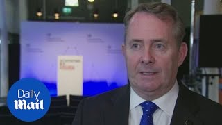 Liam Fox supports Prime Minister