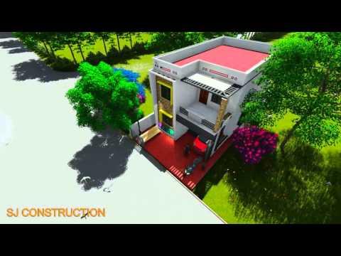 3d Front Elevation - SJ Civil Engineering