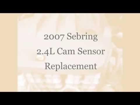 2007 Chrysler Sebring 2 4L Cam Sensor Replacement